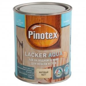 Лак для бань и саун Pinotex Lacker Sauna 20 полуматовый 1 л