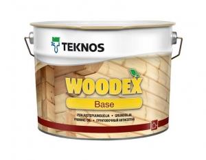 Грунтовочный антисептик TEKNOS WOODEX BASE Бесцветный 3 л