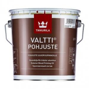 Грунтовочный состав TIKKURILA Valtti Primer Бесцветный 2,7 л