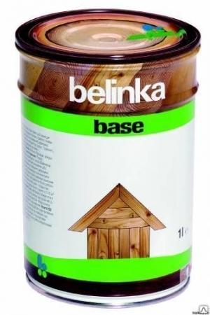 Высокоэффективная глубокопроникающая грунтовка-антисептик Belinka Base бесцветная 1 л