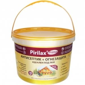 Огнебиозащита Pirilax-Prime 1-2 группа бесцветный 10 кг