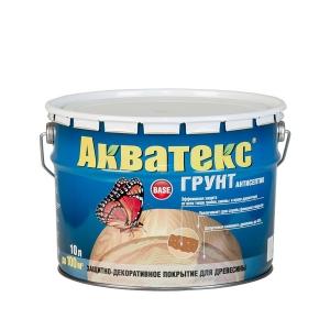 Грунт-антисептик АКВАТЕКС 10 л