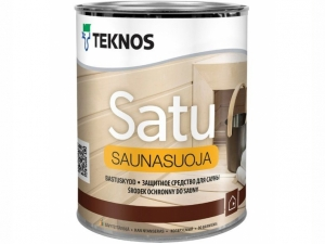 Защитное средство для сауны Teknos Satu Saunasuoja 0,9 л