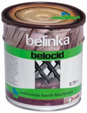 Антисептик для лечения пораженной древесины БЕЛИНКА BELOCID 0,75 л