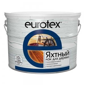 Лак яхтный EUROTEX 10л
