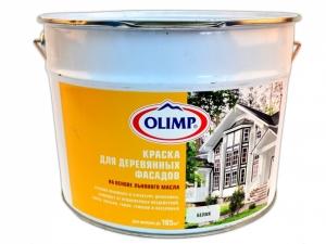 Краска для дерева на основе льняного масла OLIMP  9 л