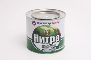 Нитра эмаль Ярославские Краски НЦ-11 глянцевая быстросохнущая 1,7 кг
