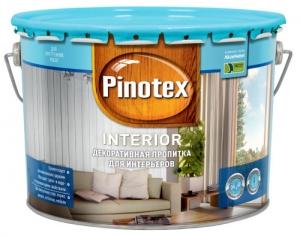 Пропитка Пинотекс Интерьер бесцветный 10 л