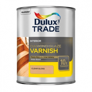 Лак паркетный Dulux Diamond Glaze 1 л