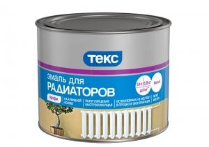 Эмаль алкидная для радиаторов ТЕКС Профи Белая 0,55 кг