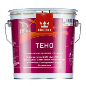 Краска масляная для дерева Tikkurila Teho База А полуглянцевая 2,7 л