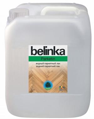 BELINKA PARKETIN Лак паркетный водный полуматовый 5л