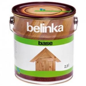 Высокоэффективная глубокопроникающая грунтовка-антисептик Belinka Base бесцветная 2,5 л