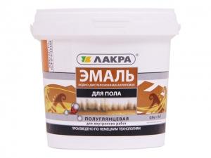 Эмаль акриловая для пола Лакра Золотисто-коричневая 2,4 кг