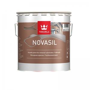 Tikkurila NOVASIL MRA силикономодифицированная фасадная краска 2,7 л