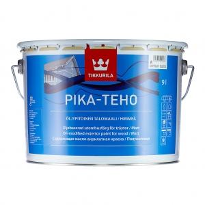 Краска акрилатная для дерева Tikkurila Pika-Teho Белая матовая 9 л