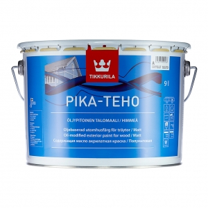 Краска акрилатная для дерева Tikkurila Pika-Teho  базис С 9 л