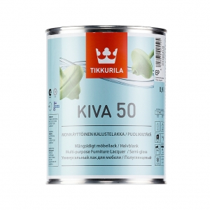 Кива-50 лак для мебели полуглянцевый 2,7л