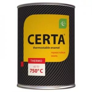 Эмаль термостойкая антикоррозионная Certa (КО-868) Белая +400°С 0,8 кг