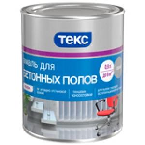 Эмаль для бетонных полов Текс ПРОФИ 2,7 л