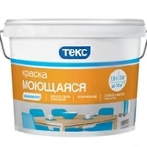Краска моющаяся Текс УНИВЕРСАЛ, 40 кг