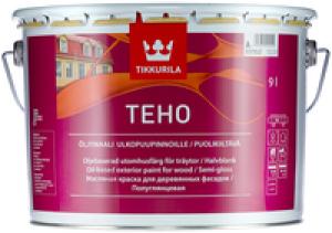 Краска масляная для дерева Tikkurila Teho База А полуглянцевая 9 л