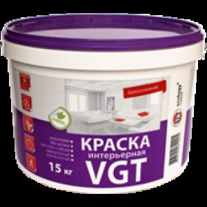 Краска ВД-АК-2180 интерьерная белоснежная, 15 кг