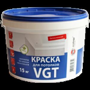 Краска ВД-АК-2180 для потолков белоснежная 15кг