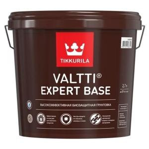 Биозащитная грунтовка TIKKURILA Valtti Expert Base Бесцветная 2,7 л