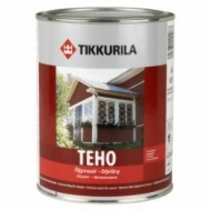 Краска масляная для дерева Tikkurila Teho База А полуглянцевая 0,9 л