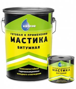 Мастика битумная КРАФОР 16 кг