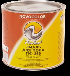 Эмаль для пола ПФ-266 Новоколор 25 кг