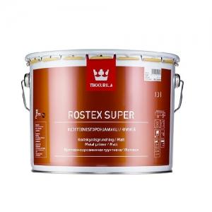 Грунтовка  быстросохнущая Tikkurila Rostex Super Cветло-серая 10 л
