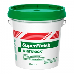 Шпатлевка SHEETROCK SuperFinish 5,6кг