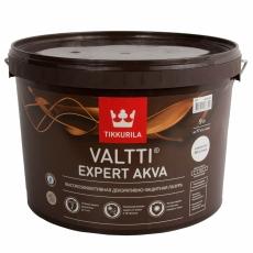 Декоративно-защитная лазурь TIKKURILA Valtti Expert Akva 9 л