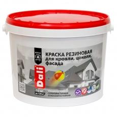Краска резиновая белая DALI 12 кг