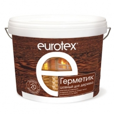 Герметик шовный для дерева EUROTEX 6 кг
