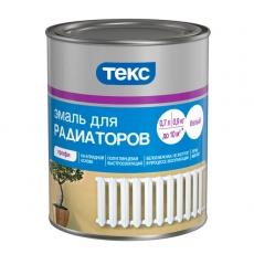 Эмаль алкидная для радиаторов ТЕКС Профи Белая 0,9 кг