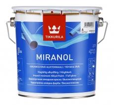 Эмаль алкидная TIKKURILA MIRANOL Белая высокоглянцевая 2,7 л