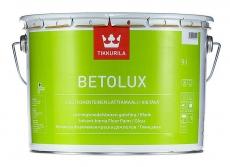 Краска для пола Тиккурила Бетолюкс белая 9 л