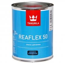 Краска эпоксидная двухкомпонентная для ванн и бассейнов Tikkurila Reaflex 50 (копмлект с отвердителем) Белая 1 л