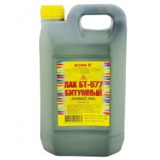 Лак битумный БТ-577 Кузбасслак 5 кг