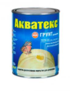 Грунт-антисептик АКВАТЕКС 0,8 л