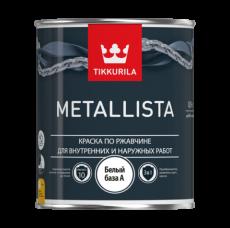 Краска по ржавчине для внутренних и наружных работ Tikkurila Metallista 2,5 л
