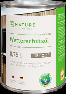 Защитное масло для внешних работ 280 Wetterschutzöl 10 л