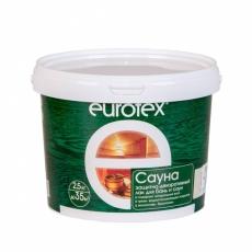 Защитно-декоративный лак EUROTEX Сауна 2,5 л