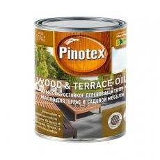 Масло для защиты древесины Pinotex Wood&Terrace Oil бесцветное, 1 л