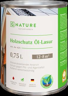 Масло-лазурь для дерева 425 Holzschutz Öl-Lasur 0,75 л