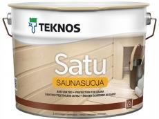 Защитное средство для сауны Teknos Satu Saunasuoja 9 л