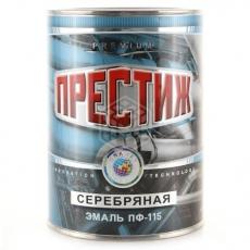 Эмаль ПФ-115 Престиж серебряная 0,8 кг